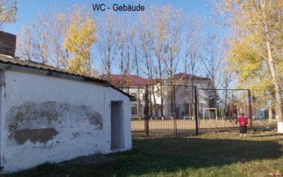 Neue WC Anlagen für Schule in Gojane