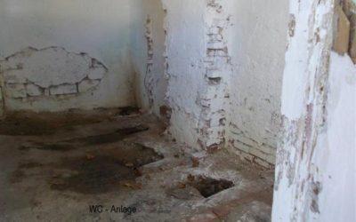 Neue Toiletten für Schüler in Dubovo